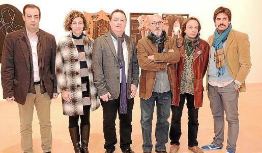 Antonio Aguilar, Rosa Maria Tarragó, Rafel Torres, Miquel Mesquida, Marcos Vidal y Fernando Gómez de la Cuesta.