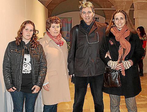 Gabriela Treen, Roser Puignero, Jaume Gual y Aina Amengual