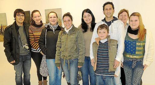 Guillem Amengual, Aina Serra, Petra Coll, Marga Coll, Esperança Serra, Pedro Pinadero, Pedro Femenias, Jeronia Rayó y Marga Femenias.
