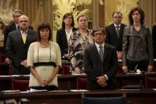 PALMA. POLITICA AUTONOMICA. PLENO DEL PARLAMENT BALEAR. FRANCINA ARMENGOL, PORTAVOZ