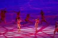 La ceremonia inaugural de los Juegos Olímpicos de Tokio, en imágenes