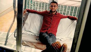 Mohamed, el joven apaleado en Cales de Mallorca