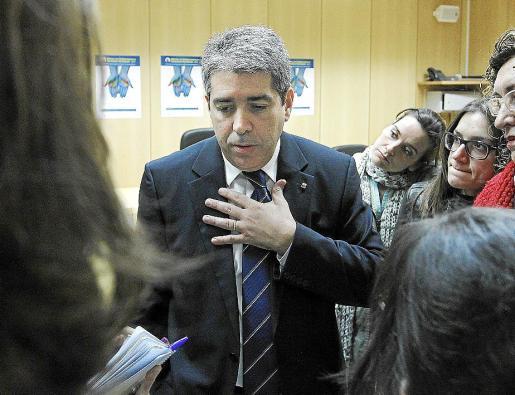 El portavoz del Govern habló ayer sobre el espionaje en Catalunya.