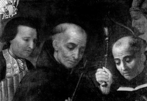 Retrato de Fra Juníper Serra.