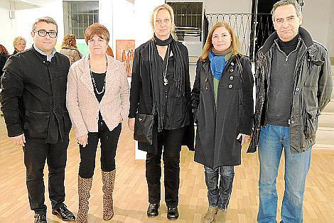 Virgilio Moreno, Teresa Castell, Doris Duschelbauer, Margalida Llobera y Xavier Ramis.