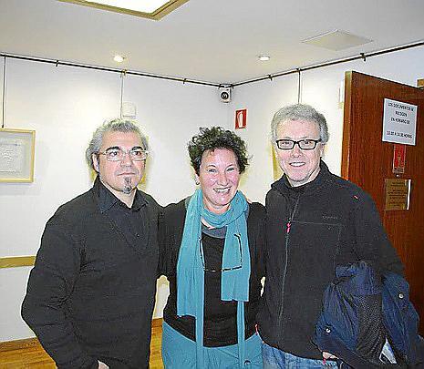 Velcha Velchev, Silvia Bregar y Luis Maraver.