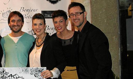 Toni Pérez, Joana Solivellas, Antònia Maria Torrens y Tomeu Garcies.