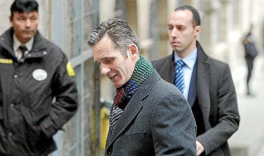 Iñaki Urdangarin declaró en el juzgado de Palma el día 23 del pasado mes.