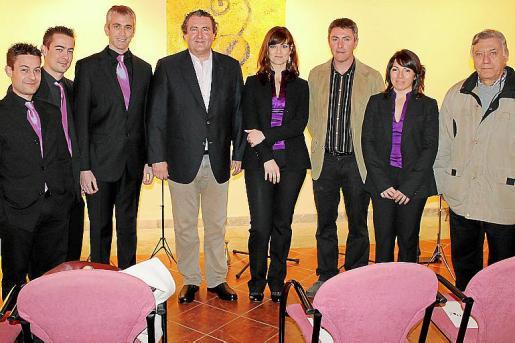 José Francisco y Carlos Fortea, Josep Tatay, Ramón Servalls, Mayte Abarques, Guillem Crespí, Silvia Insa y Toni Campomar.