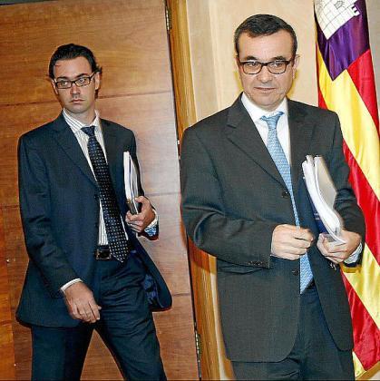 Antoni Costa y Josep Ignasi Aguiló.
