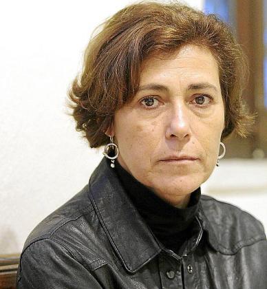 Maria do Rosário Pedreira, ayer en Palma.