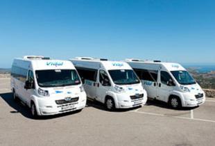 Autocares Vidal, en Es Migjorn Gran, Menorca