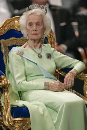 La princesa Lilian de Suecia.