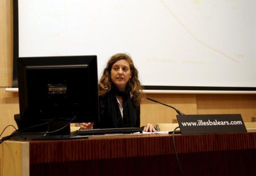 La directora general de Economía y Estadísticas, Joana Aina Perelló.