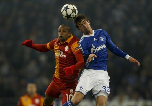 Imagen de uno de los momentos del partido.