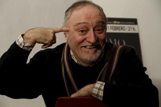 Moncho Borrajo, en una imagen tomada durante una de sus últimas visitas a Palma.