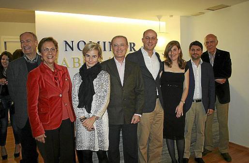 Esteban Bardolet, Francisca Bennássar, Rosario García-Guillot, Antoni Terrassa, Manuel Bordoy, Virginia Núñez, Gori Illescas y Alejandro Bordoy.