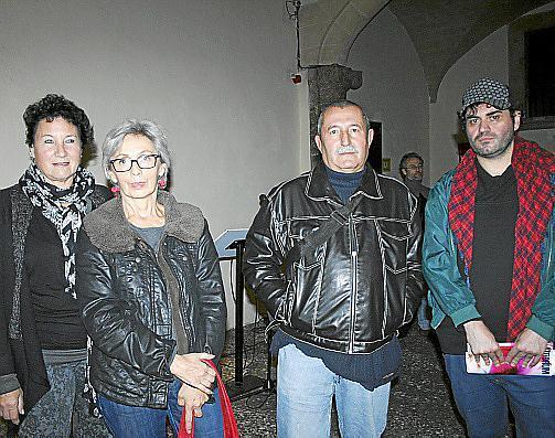Silvia Bregar, Elena Gatti, Bernat Pujol y Tolo Cañellas.