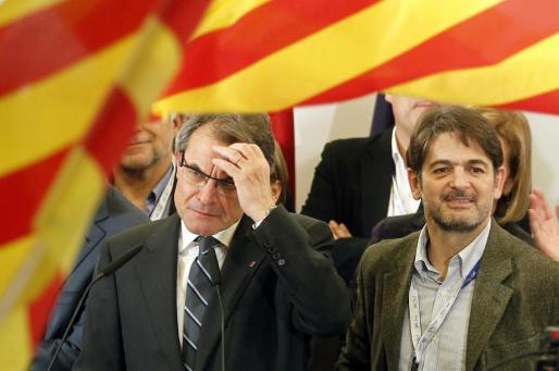 Oriol Pujol y Artur Mas, en una imagen de archivo.