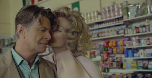 David Bowie, en un fotograma de su último videoclip.