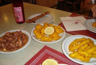 Restaurante La Rueda en Sant Lluís, Menorca