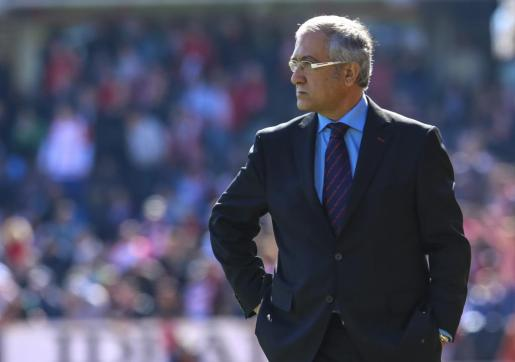 Gregorio Manzano, entrenador del RCD Mallorca.