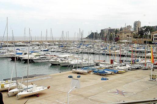 Imagen de las actuales instalaciones del puerto deportivo de Calanova.