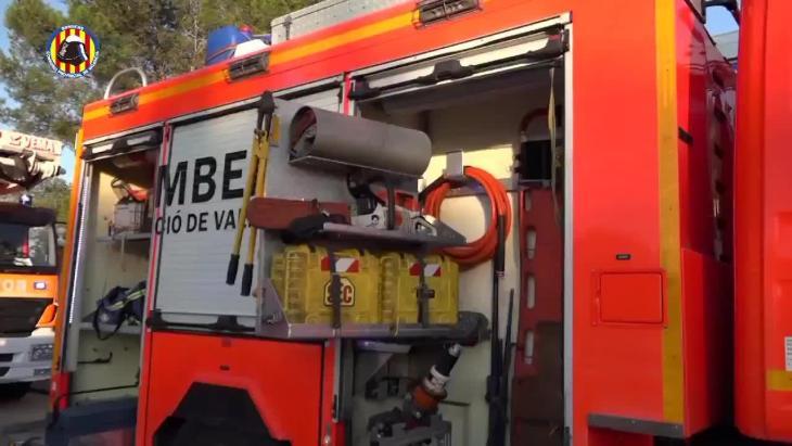 Un niño de 6 años muere en el incendio de una casa en Valencia, en la que se han hallado dos plantaciones de marihuana