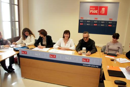 La comisión ejecutiva del PSIB se ha reunido hoy en Palma.