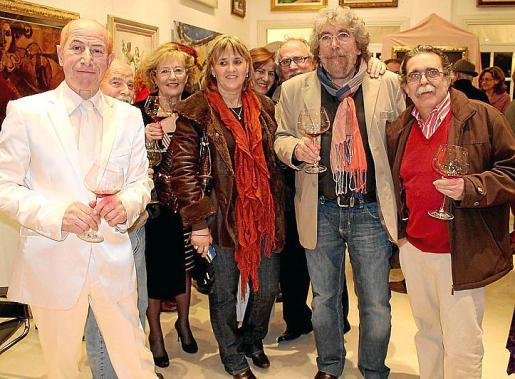 Daniel Fuster, Joan Conill, Encarna Bernal, Francisca Amer, Rosa Castaño, José Quereda, Emili Pérez y Tolo Albertí.