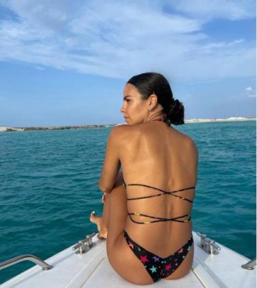 Cristina Pedroche y Dabiz Muñoz disfrutan del mar balear