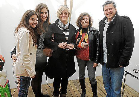 Malena Payeras, Maria Monroig, Caterina Vives, Isabel Cerdà y Antoni Monroig.