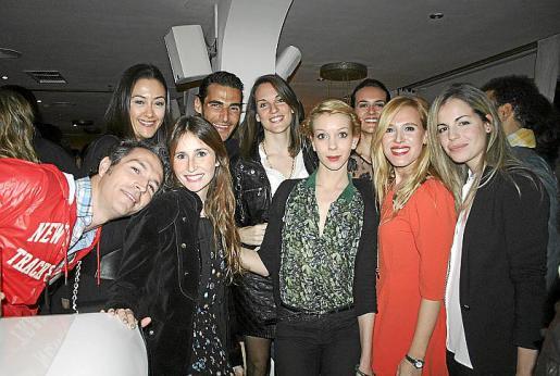 Manolo Clar, Alejandra Company, Sabrina Barceló, Javi Perelló, Denise Salom, Malena Zoilo, Mar Amengual, Leti Lope y Marie Condemine.