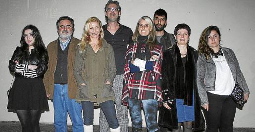 Ainhoa Tilves,Pere March, Parnilla Lundgren, Stefan Lundgren, Jennifer West, Lucas Barceló, Margalida Munar y Nuria Anguita.