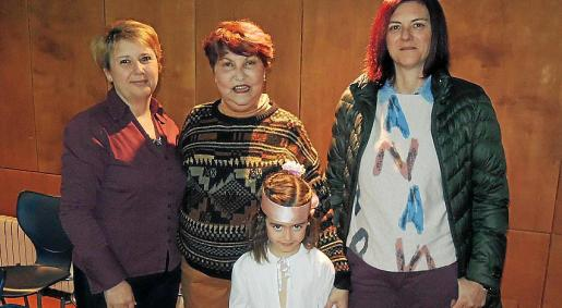 Bárbara Lladó, Idanis Álvarez, Martina Moyà y Caterina Vallés.