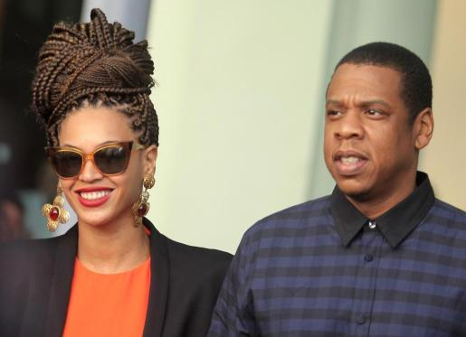 Beyoncé (izq.) y su marido, el rapero yproductor Jay-Z pasan unos días en Cuba.