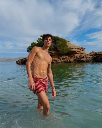 Shawn Mendes 'promociona' Mallorca
