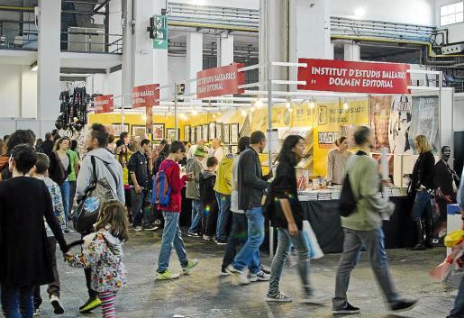 En el stand del IEB se expuso la muestra 'Herois', de dibujantes mallorquines que trabajan para USA.