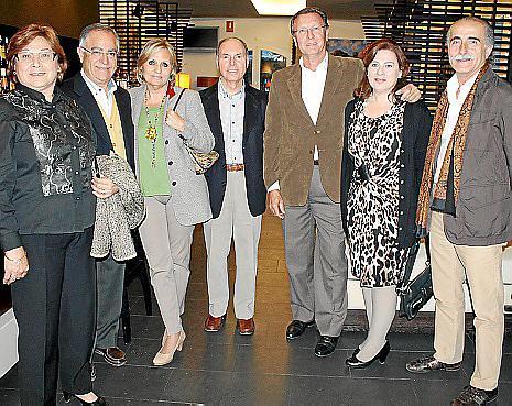 Julia Escudero, Mateu Hernández, Tina Miró, Miquel Amengual, Ángel Mascaró, Mercedes Salom y Tià Sitjar.