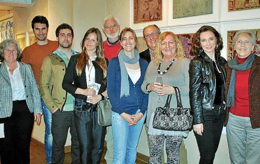Pepa Garrido, Humberto Miró, Pere Boladeras, Justyna Owizarska, Bernat y Maria Togores, Josep Boladeras, Margalida Cerdá, Lourdes Ferriol y Pilar Fernández.