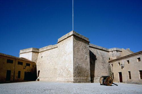 El Castell de Sant Carles alberga el museo.