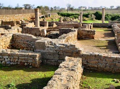 Las ruinas romanas pueden ser visitadas.