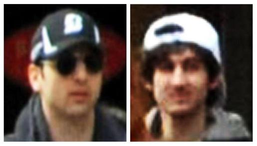 Imagen de los sospechosos difundida por el FBI.