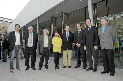 Fernando Gómez de la Cuesta, Pere A. Serra, Llorenç Ginard, Nekane Aramburu, Adolfo Orozco, Rafel Bosch, Fernando Gilet y Joan Rotger.