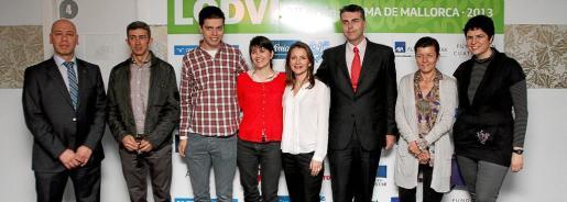 Serge Cardeñas, Carlos Prieto, Pau Garcia-Milà, María Belón, Anna Dauphine Julliand, Aitor Ortega, Carmen Serra y Pilar Daranas.