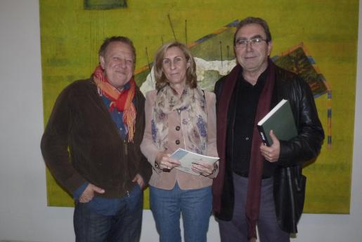 Horacio Sapere, María Rosa Reynés y Arnau Panadés.