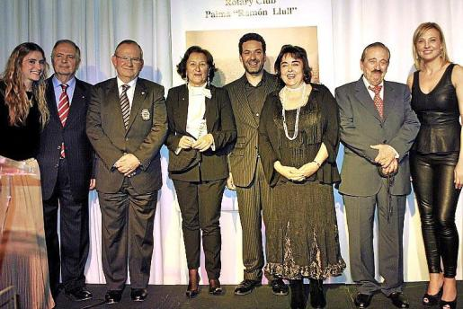 Lía, Lorenzo Mulet, Pancho Roses, Mariángeles Peruchet, Jaume Anglada, Maribel Morueco, José Pérez-Beite y Victoria Maldi.