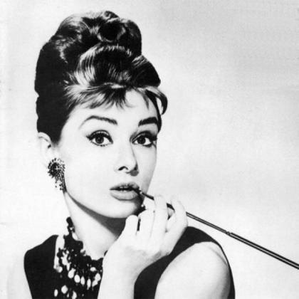 Audrey Hepburn, la inolvidable Holly de 'Desayuno con diamantes'.