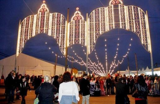 La Feria de Abril de Palma arranca por sevillanas en el polígono de Son Rossinyol