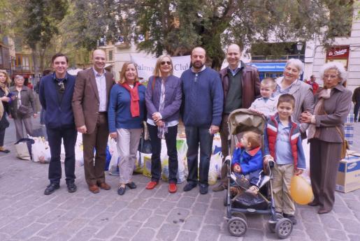 Jaime Ripoll, Antoni Serra, Esperanza Pérez, Ria Spapen, Bartomeu Jaume, Ricardo, Fernando, Antonio Pío y Felio Bauzá, María Eugenia Díaz-Munio y Teresa Conejo.